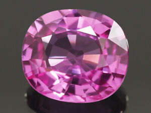 NATURAL MINE - UNHEATED VVS OVAL PINK SAPPHIRE 0.73 CT.