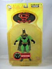 Superman / Batman ser 4 KRYPTONITE BATMAN 6in Figure Glow in the DARK DC Direct
