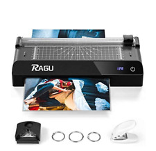 Ragu 6 in 1 Laminator with Touchscreen,9 inches Thermal Laminator, Paper Trimmer