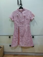 pink traditional chinese dress
