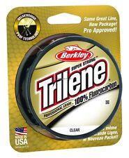 Trilene Fluorocarbon / Green / 200yds / 8lb / Lot of 3 Packs
