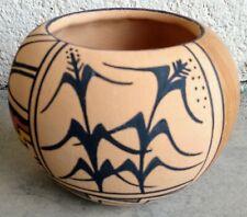 Vintage Beautiful Jemez Pottery Bowl By Roberta Shendo