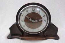 Oak Art Deco Antique Mantel & Carriage Clocks (1900-Now)