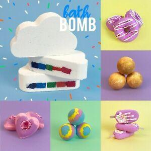 Kukubird Rainbow Cloud Bath Bombs / Cruelty Free / Free Delivery in UK P&P