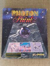 "Photon Paint II 2 for Amiga 3.5"" disk - Vintage Retro Game - 1988"