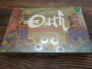 Oath: Chronicles of Empire and Exile Kickstarter Version