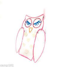 Standing Or Hanging Jewellery Holder Earrings Display Storage Cute Metal Owl