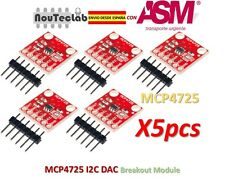 5pcs MCP4725 I2C DAC Breakout Module Development Board