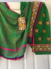 3 meter Ethnic Indian Punjab PATIALA/ Patiyala SALWAR Embroidered With Dupatta