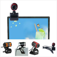 USB 2.0 HD Webcam Camera Web Cam With Mic For Computer PC Laptop Desktop Y