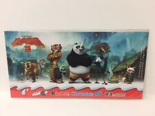 Kinder Surprise Kung Fu Panda 3 Sticker Sheet Limited Edition China 2017 Rare