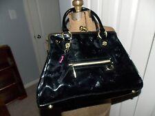 Betseyville Black Patent Leather Purse Shoulder Bag L0817