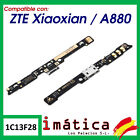 Flex Load For ZTE Xiao Xian / A880 Plate Micro USB Microphone Connector Blade