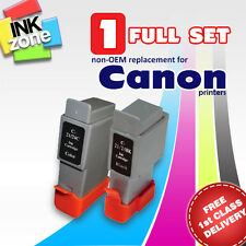 Full Colour Set of non-OEM Ink Cartridges for CANON Printers i320 i350 i355