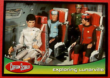 CAPTAIN SCARLET - Card #46 - Exploring Lunarville - Cards Inc. 2001