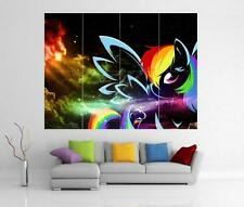 Rainbow My Little Pony l'amicizia è magico Giant WALL ART PRINT POSTER H19