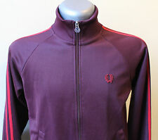 FRED PERRY Jacket Vintage Purple Hipster Outdoor Retro Womens UK 14 US 10 EU 42