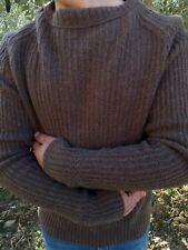 C.C. Filson Seattle Men's Wicker 100% Lambswool Crewneck Sweater Cardigan Size L