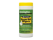 NEW Remington 60 REM OIL WIPES TEFLON LUBRICANT Gun Care CLEAN LUBRICATE PROTECT