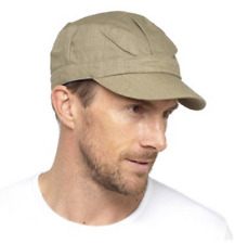 New Unisex Lightweight Cotton Linen Army Caps