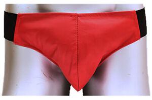 BRAND NEW 100% Leather Red Tom Jock Strap Brief