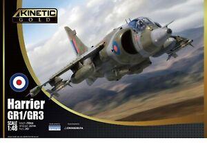 KINETIC GOLD 48060 Harrier GR1/GR3 in 1:48