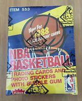 VINTAGE 1988-1989 FLEER BASKETBALL CARDS WAX BOX SEALED BBCE - MICHAEL JORDAN