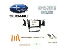 Fits 2015-2018 SUBARU Select Models w/o NAV, INSTALL KIT for CAR STEREO, HARNESS