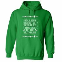 Mens Jolliest Bunch Of Asholes Ugly Christmas Vacation Sweater