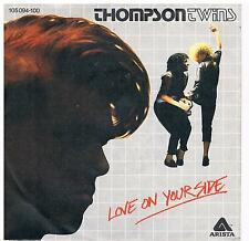 """Thompson Twins-Love on your side/Love on your back/7"""" single di 1983"""