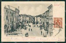 Vicenza Lonigo REINCOLLATA cartolina QK7737