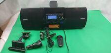 Siriusxm Subx2R Satellite Radio Boombox & St5R Radio, Remote, Car Accessories!