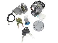 KR Zündschloß mit 2 Schlüsseln für Roller GY6 50 ccm ..... Ignition switch