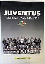 FOLDER FILATELICO - JUVENTUS CAMPIONE D'ITALIA 2004 /2005 - 2005 - [RN10]