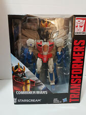 Starscream Transformers Combiner Wars MISB New in Package Leader Class Hasbro