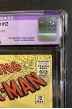 CGC RESTORED GRADE 7.0 AMAZING SPIDER-MAN #12 COMIC BOOK 1964 DOCTOR OCTOPUS