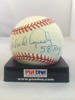 "Orlando Cepada ""58 ROY"" Signed Autographed National League Baseball PSA DNA COA"