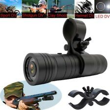 1080P Sports Camera Mini DV Helmet Gun Hunting Video For Shooting Rifle+Big Clip
