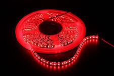12V 24V 3528 SMD Led Light Strip Waterproof White/Blue/Green/Red/Pink 600 LEDs