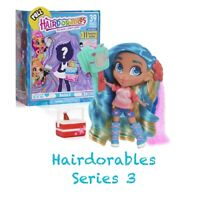 New SEALED 2019 Hairdorables Series 3 Crimp Color Reveal Collectible Doll VHTF