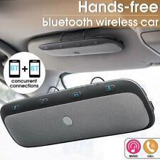 Multipoint Wireless Bluetooth Handsfree Car Kit Handsfree Audio Music Speaker
