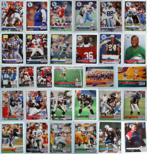 1992 Pro Set Football Cards Complete Your Set U You Pick From List 1-240
