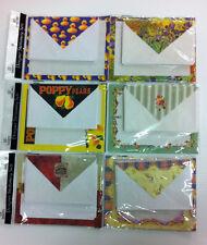 Designer stationery set with envelopes