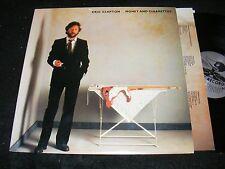 ERIC CLAPTON 1983 LP Money & Cigarettes Top Guitar Players RY COODER Albert Lee