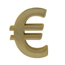 Euro Europa Eurozone Geld EZB € Emblem Metall Button Pin Anstecker 0243