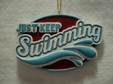 "KSA ""JUST KEEP SWIMMING"" Ornament ~ Personalizable ~ Great Gift Idea"