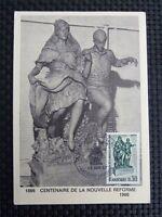ANDORRA MK 1966 COSTUMES MAXIMUMKARTE CARTE MAXIMUM CARD MC CM c811