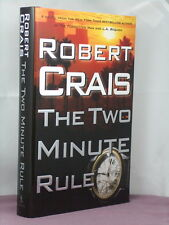 1st, signed by the author, The Two Minute Rule by Robert Crais (2006)