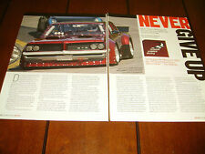 1964 Pontiac Gto Road Race Car *Original 2006 Article*
