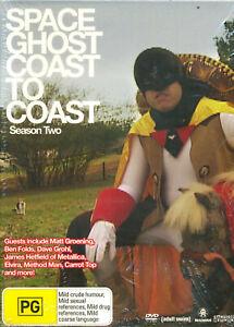 Space Ghost Coast to Coast Season Two 2 DVD NEW